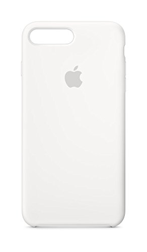 Apple Silikon Case (iPhone 8 Plus / iPhone 7 Plus) - Weiß
