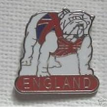 Inghilterra Bulldog smalto spilla