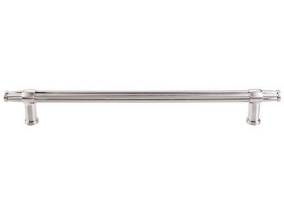 Brushed Satin Nickel Appliance (Top Knobs TK199 Luxor Series 12 inch Center Appliance Pull, Brushed Satin Nickel by Top Knobs)