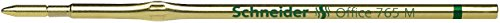 Schneider Schreibgeräte Kugelschreibermine office 765 M, grün, dokumentenecht, ISO 12757-2 H
