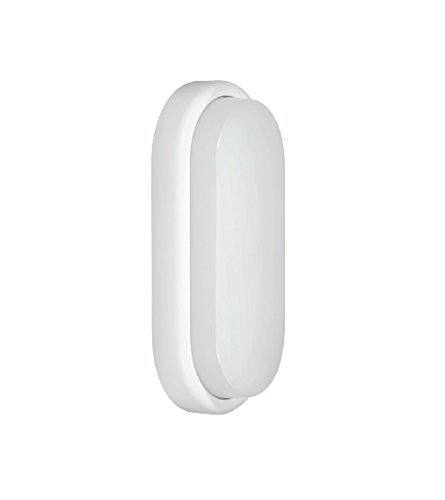 Fox Light - Hublot LED ovale 18W avec détecteur de mouvement intégré 1300 Lm 4000K 240V - 601363