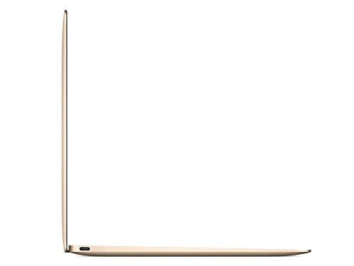 Apple MacBook Retina MK4M2D A 304 cm 12 Zoll Notebook Intel root M 11GHz 8GB RAM 256GB SSD Intel HD 5300 Mac OS gold Notebooks