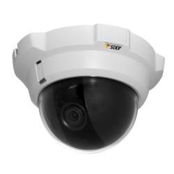 AXIS P3301 Netzwerkkamera, Kuppel, Farb, Automatische Irisblende, Audio, 10/100 Audio-kuppel