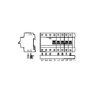 ABB Phasenschiene Anzahl Reihen 3 10mm² 2CDL230002R1012