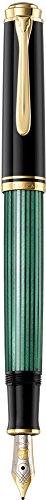 Pelikan Premium M400 Füllfederhalter F Plume schwarz/grün