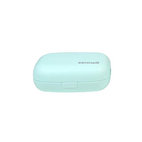 Estuche Desinfectante de Cepillo de Dientes UV Profundo Portátil, Limpiador de Soporte de Cepillo único/Desinfectante...