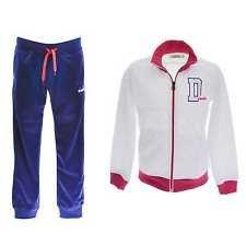 Diadora G. Suit PL Tuta Bimba White/Pink size L