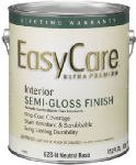 A USA Made Product EasyCare® Interior/Exterior 100% Acrylic Latex Paint, Semi-Gloss Finish, White (For Light Colors), 1 Quart, Eco-Friendly Paint (White)