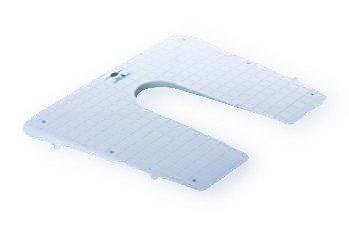 Keilförmige Spiegelschutzplatte Kunststoff - Kunststoff-heckspiegel