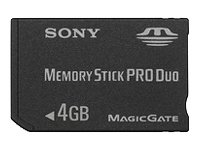 Sony - Memory Stick Pro Duo Speicherkarte (4GB)