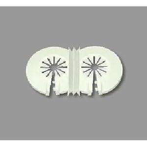 Recoval Floron embellecedor radiador Standard para 2 Tubo Blanco (Pack 10uds)