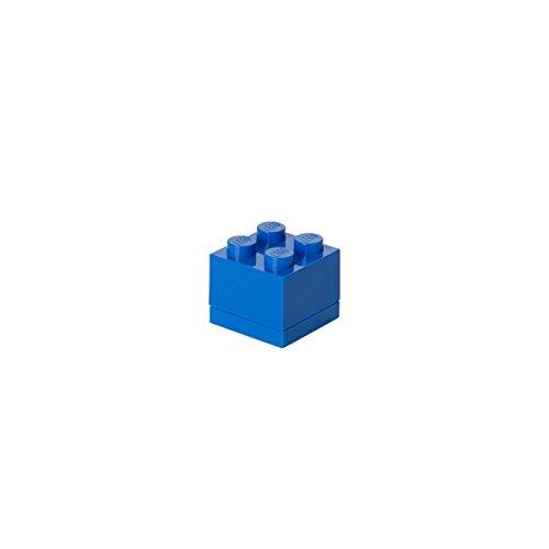 Légo 40110631 Mini Boîte 4 Plots Plastique Bleu