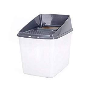 MRXUE Katzenstreu-Box/Hooded Cat Pan Vollständig Eingeschlossen/Wurf Tablett Toilette, Große Spritzwasserdichte Hygienische, Deodorierende Geruchsfreie -