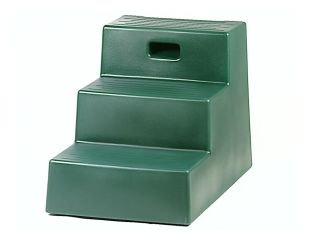 Artikelbild: Horsemens Pride 3-Step Mounting Block Heavy Duty Polyethylene Footing Black