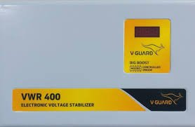 V-Guard VWR 400 Voltage Stabilizer (Grey)