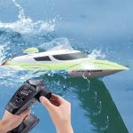 Best Green Toys Remote Control Boats - HITSAN INCORPORATION HongXunJie HJ806 2.4Ghz Water Cooling High Review