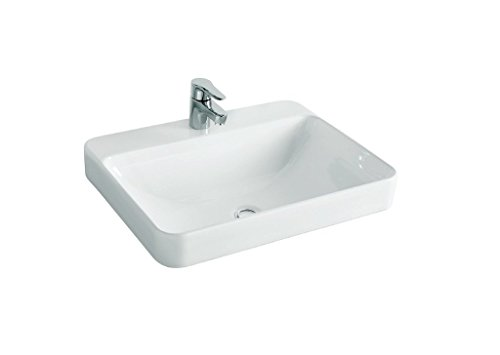 Kohler Forefront (K-2660In-1 _White) Rectangular Vessel Lavatory With Single Faucet Hole