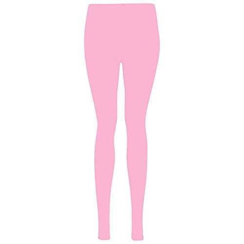 Setsail Damen Neue Art und Weise schnell trocknende Reine Yogahosen elastische Normallackhose Sport Leggings, Yogahose Sporthose Blickdicht Hohe Taille Hosen -