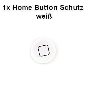 smartec24® iphone ipod touch ipad Home Button Schutz Sticker in weiß home button protector für optimalen Schutz des Home Buttons ohne dabei die originale Optik zu verfälschen (Sticker Ipod Touch)