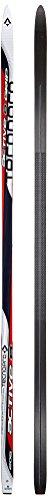 Tecnopro Erwachsene Langlauf-Ski Active 8 G2+ Langlaufski, Weiss/Rot/Schwarz, 198