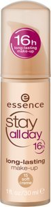 ESSENCE STAY DAY 16H MAQUILLAJE DE LARGA DURACIÓN 30 ML 15 SOFT CREME