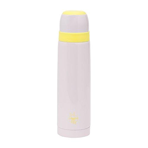 LÄSSIG Kinder Thermoskanne Trinklflasche Isolier-Kanne Sicherheitsverschluss Auslaufsicher/Thermos Flask rosa (Edelstahl Isolier-becher)