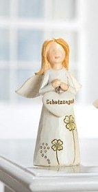 Gilde Mutmacher Engel Schutzengel in mehreren Ausführungen und Größen (8cm, beide hände vor der brust)