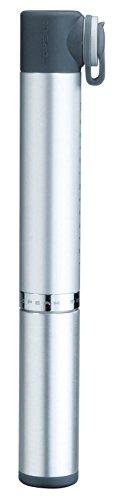 TOPEAK Minipumpe Micro Rocket, Silver, One Size, TMR-AL