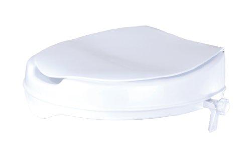 GAH-Alberts 140816 Toilettensitzerhöhung - Kunststoff, weiß, 370 x 400 mm -