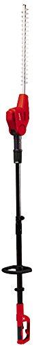 Einhell Elektro Stab Heckenschere GC-HH 5047 (500 W, 470 mm Schnittlänge, 20 mm Zahnabstand, Zusatzhandgriff, verstellbarer Tragegurt)