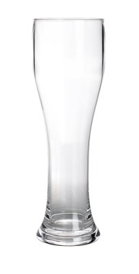 Unzerbrechliches Geschirr Glas (gimex Weißbierglas 0,5 l)