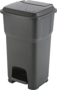 Preisvergleich Produktbild vileda Pedaleimer Hera schwarz Inhalt 60 Liter 60Liter