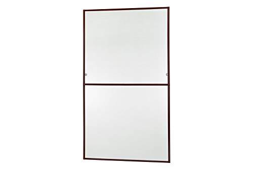 empasa Insektenschutz Fliegengitter Fenster Alurahmen MASTER SLIM XL in weiß, braun oder anthrazit 130 x 220 cm