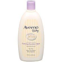Aveeno Baby Calming Comfort Bath 530 ml by Aveeno (English Manual) (Aveeno Bath)