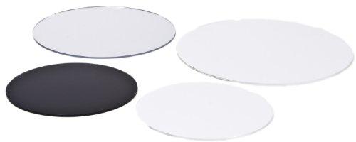 Kreiszuschnitt aus Acryl / Plexiglas®: transparent, 4mm XT, 25 cm Durchmesser