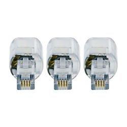 GE Cord Management; GE Telephone Cord Detangler, 3-Pk, Black by GE Cord Detangler