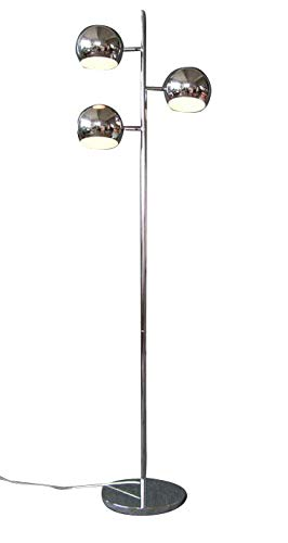 STEHLEUCHTE ORBIS chrom/Retro-Look/Stehlampe Standlampe Standleuchte