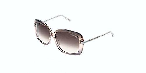 Tom Ford Für Frau 0323 Gradient Pink / Gradient Brown Kunststoffgestell Sonnenbrillen