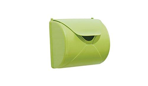 Toller Garten Spielzeug Kunststoff Briefkästen in der Farbe Grün für Kinder im Maß 25 x 14 x 23 cm (Breite x Tiefe x Höhe) zum Anbringen an Spieltürmen oder Spielhäusern