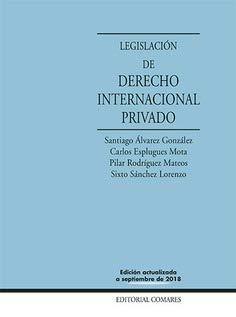 Legislación de derecho internacional privado (21ª ed.) por Aa.Vv.