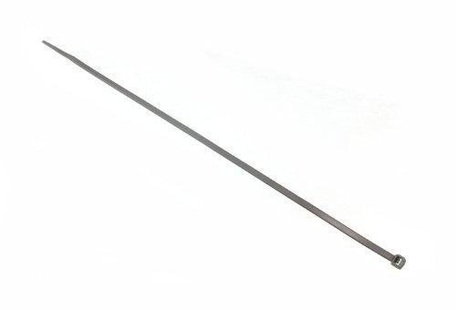 LOTE DE 2400 CABLE ZIP TIES TIDYS 12 PULGADAS 300 MM PLATA EMBELLECEDORES DE RUEDA PARA