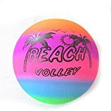 #10: Day Crazy Bouncing Deflated PVC Play Beach Ball for Kids (Toy) 1 Smiley Bal Free