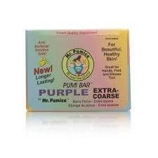 Mr. Pumice Pumi Bar Purple Extra-Coarse 1 Box (12 Counts) by Tayongpo