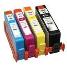 Bramacartuchos - 4 X Cartuchos compatibles Non Oem Hp 364XL CON CHIPS NUEVOS -HP Deskjet 3070, 3070a, 3520 e-All-in-One, D5400 HP Officejet 4610 All-in-One, HP Officejet 4620