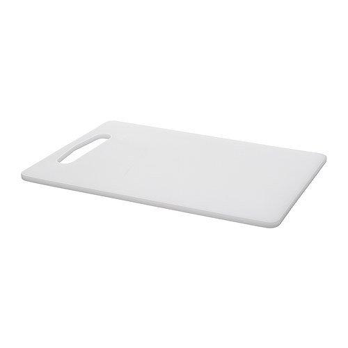 Tagliere, bianco, dimensioni 34x24 cm, Lavabile in lavastoviglie, Plastica etilenica