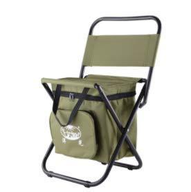 Dlkjsikogklsdgs Chaise Pliante extérieure Portable Chaise de pêche Auto-Conduite Tour Simple Mazar Tabouret de Sac de Glace Isolation Multi-Fonction