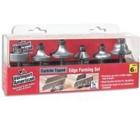 Vermont American 23016 VA Carbide Edge Form Set, 6-Piece by Vermont American