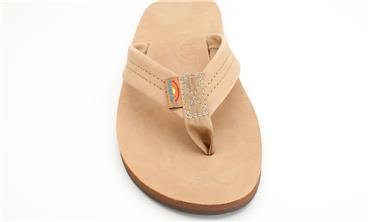 Mens Rainbow Sandals Premier Leather One Layer
