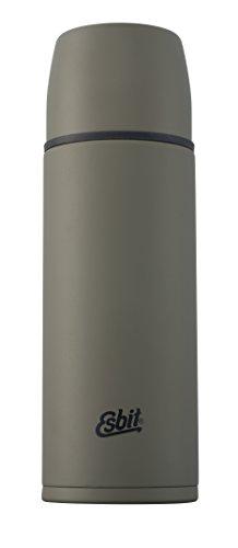 Esbit Isolierflasche | Edelstahl | BPA-Frei | Schwarz, Oliv, Weiß | 1L & mehr | Reise, Outdoor, Angeln | Tee, Kaffee