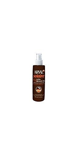 Arval Ultra Bronze Oil Olio Solare Abbronzante, SPF 6-125 ml